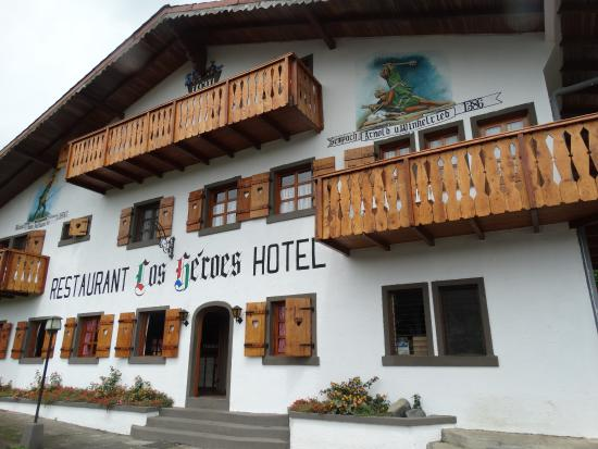 Hotel Los Heroes : Bello y acogedor hotel