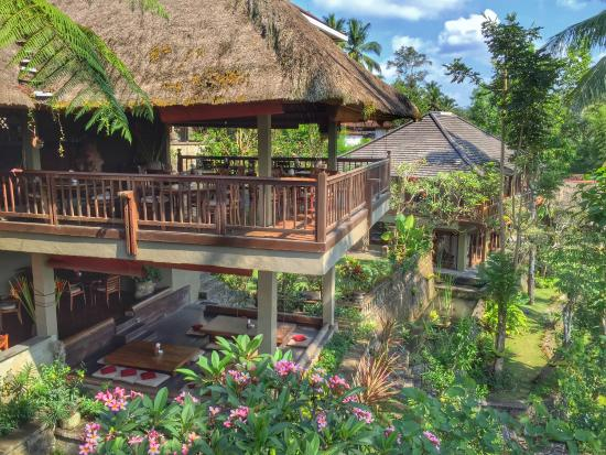 The Kampung Resort Ubud: Restaurant view