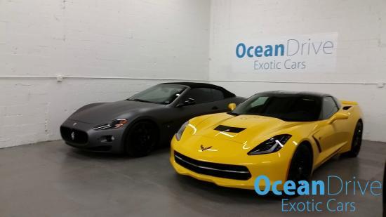 Ocean Drive Exotic Cars Odec Warehouse Maserati And Corvette