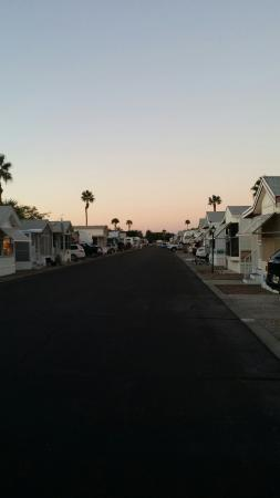 Shangri-La RV Resort: Dusk!