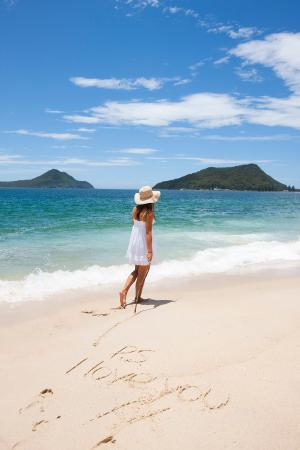 Port Stephens, Australia: P.S I love you xx