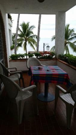 Vista Vallarta: Balcony of room 209