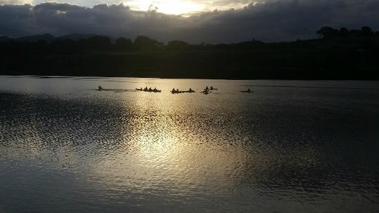 Lake District Adventures: Kayaking on Lake Karapiro