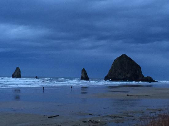 Sea Sprite at Haystack Rock: View from our room