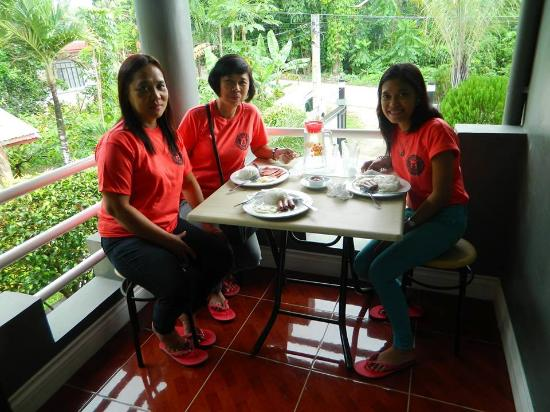 The Gabriella Bed & Breakfast: at the terrace of our room