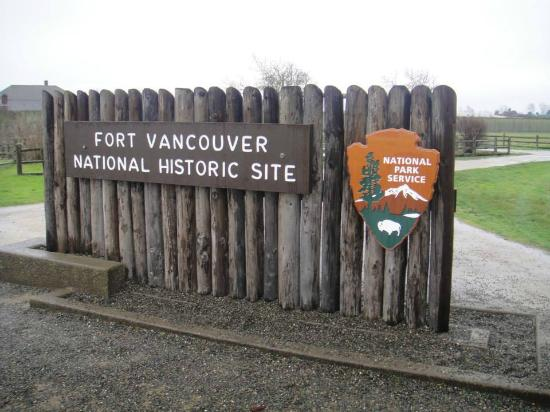 Vancouver, WA: Nice piece of American/British history.