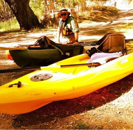 Murray River Canoe Hire : A great day on the Murray River.