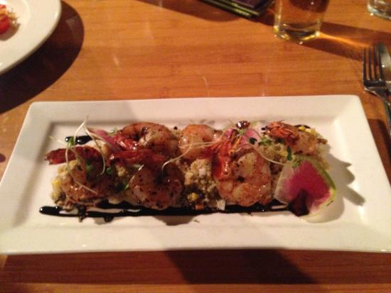 Teppan-yaki Szechuan Shrimp - Picture of Roy\'s Waikoloa Bar & Grill ...