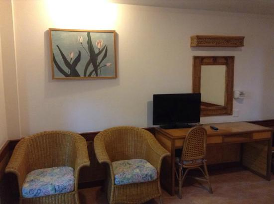 100 Islands Resort & Spa : การตกแต่งห้อง