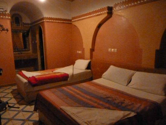 Hotel du Vieux Chateau du Dades: Habitación triple