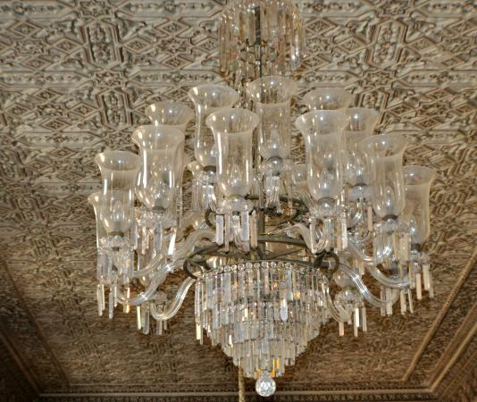 Chandelier - Picture of Chowmahalla Palace, Hyderabad - TripAdvisor