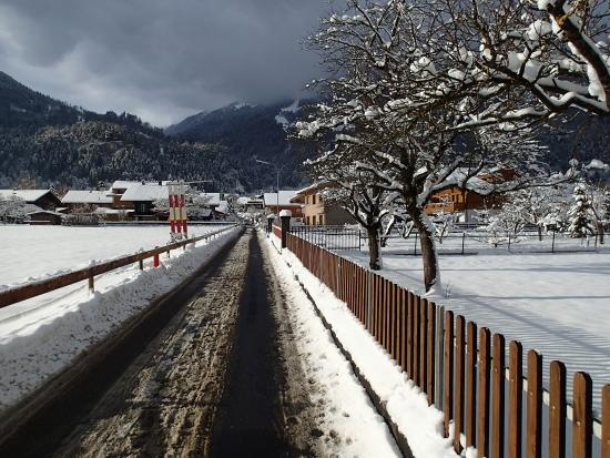 Jungfrau Hotel : Street in front of the hotel