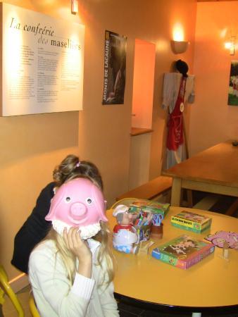 Lacaune, France: Jeux pour les enfants