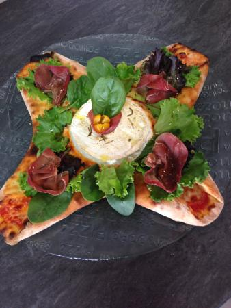 Eden Pizza : Stella : camembert, bresaola,