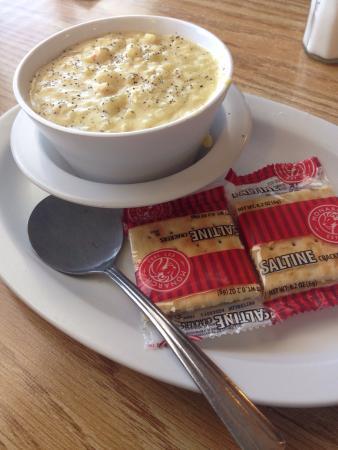 Pinon Hills, Καλιφόρνια: *Delicious soup*