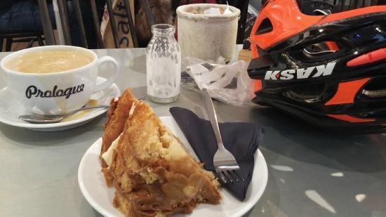 Prologue Performance Cycling: Cake and Americano...
