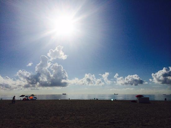 Shore Club South Beach Hotel: Early morning beach stroll