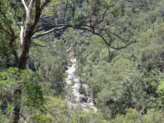 Bungonia State Conservation Area: View along the Yellow Track Walk