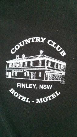 Finley, Australië: Country Club logo
