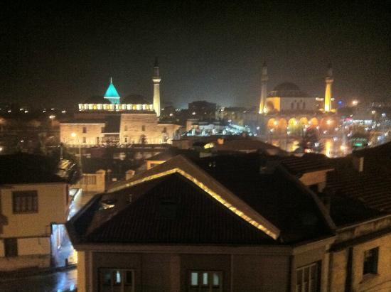 Rumi Hotel: View from the restaurant