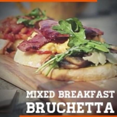 The Bridport Cafe: Breakfast bruschetta