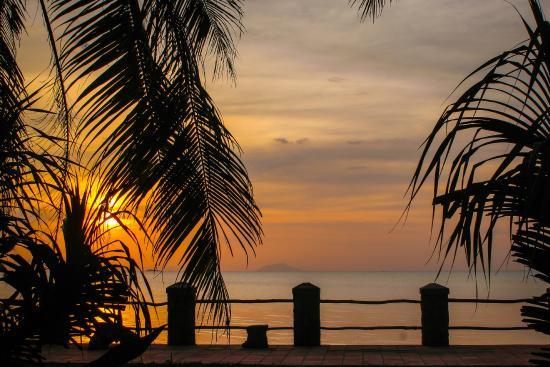 Kep Seaside Guesthouse: Территория отеля