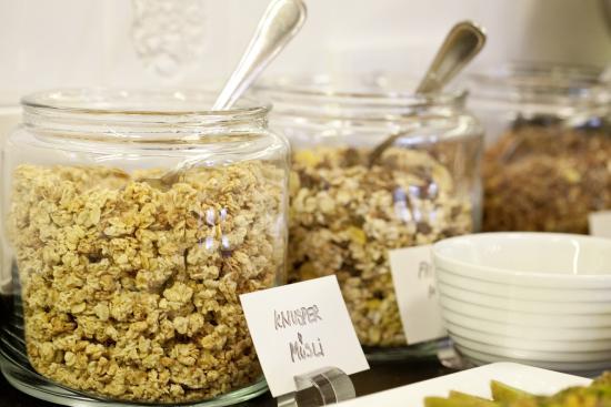 Gasthof Lerner: Müsli am Frühstücksbuffet