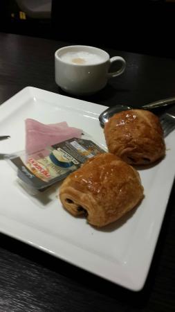 Hipark Nice: Desayuno
