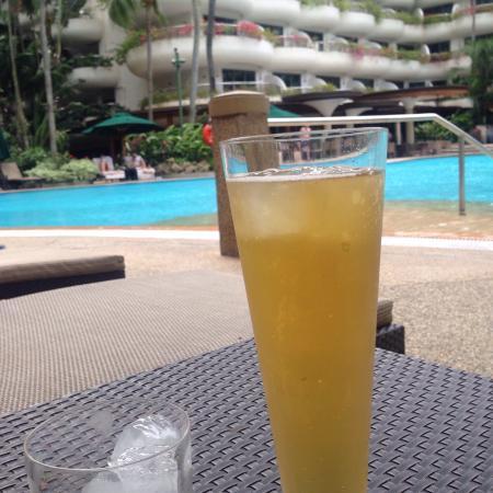 Eating Perfume Picture Of Shangri La Hotel Singapore Singapore Tripadvisor
