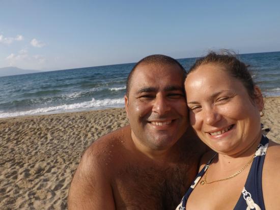 Kavros Beach: cullati dalle onde .... mangiando divinamente