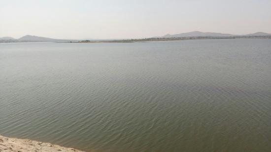 Chitradurga, Indien: Gayathri dam by Karna