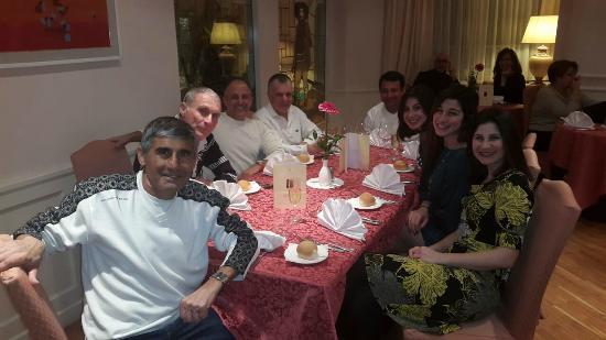 Hotel Dolomiti: בארוחת הערב