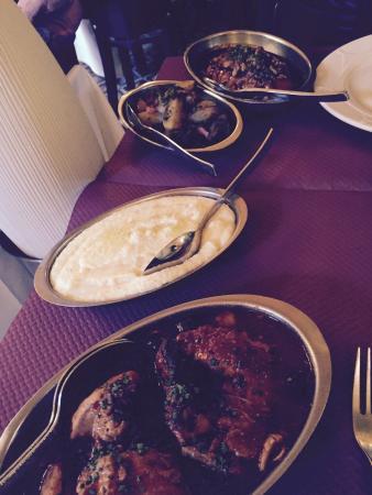Au Rendez- vous des amis : Lapin & polenta !!!