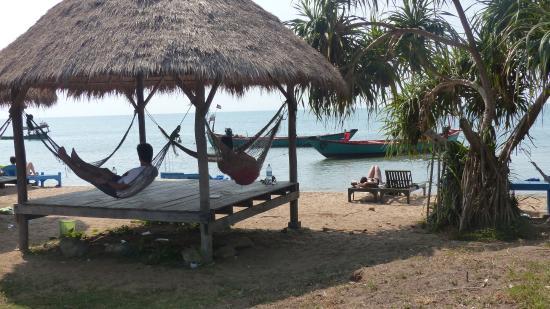 Kep, Kambodsja: au bord de la plage