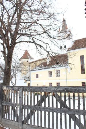 The Country Hotel: 13th Century Fortified Church in Harman