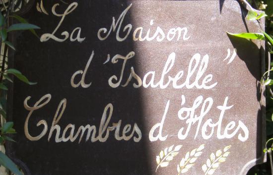 La Maison d'Isabelle  - Logo