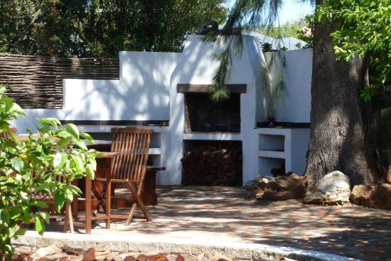 Marula Lodge Guesthouse: Grillplatz