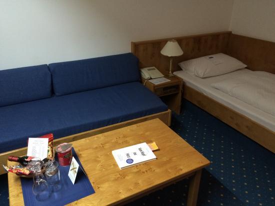 Fortuna Hotel: Zimmer