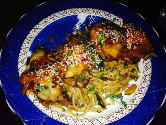 The Coven: Main course (Chinese Fritters)