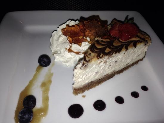 112 Restaurant and Lounge: cheesecake !