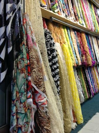 fabric store in the new york city garment district picture of seek