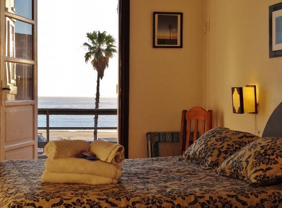 Hostería Miramar: mar a la vista