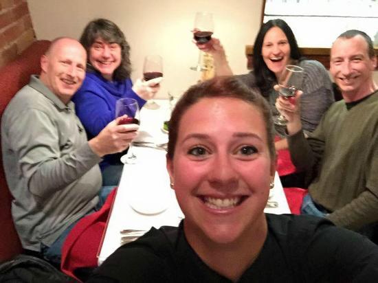 il Bistro Italiano: Kendra our favorite waitress !