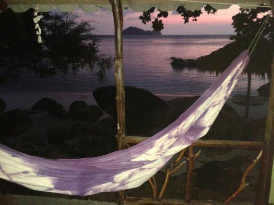 Cookies Bungalow: Le Paradis au coucher du soleil
