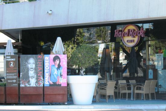 hard rock bild fr n hard rock cafe marbella puerto banus tripadvisor. Black Bedroom Furniture Sets. Home Design Ideas