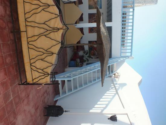 Riad Casa Blanca: Terraza
