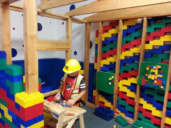 Children S Museum Of South Carolina Lego Building Area