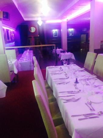 Raheen Woods Hotel: Dining room