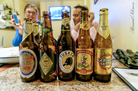 Alem Ethiopian Village : A selection of beers - Drank brews from Ethiopia, Kenya and Brazil