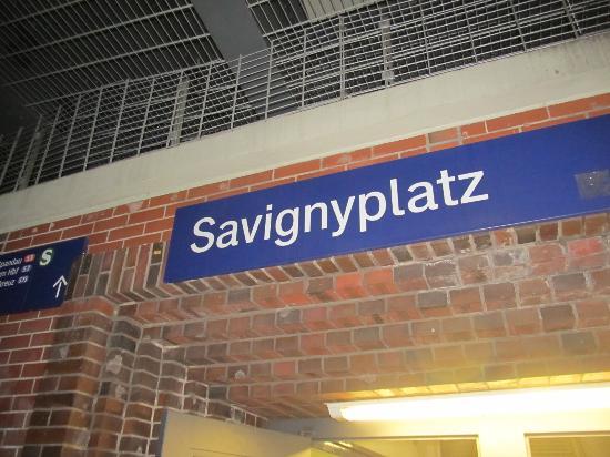 Savignyplatz S Bahn Station Picture Of Savignyplatz Berlin